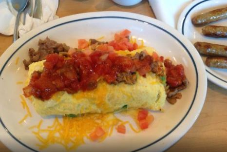 IHOP Create Your Own Omelette Menu Prices