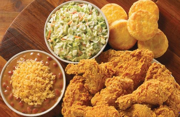Popeyes Family Feasts Menu and Prices