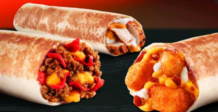 Taco Bell Menu Loaded Grillers & Prices