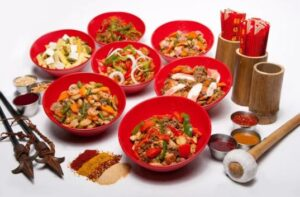 Genghis Grill Dinner Bowls