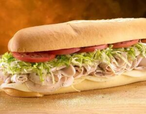 Jersey Mike's Cold Subs Menu